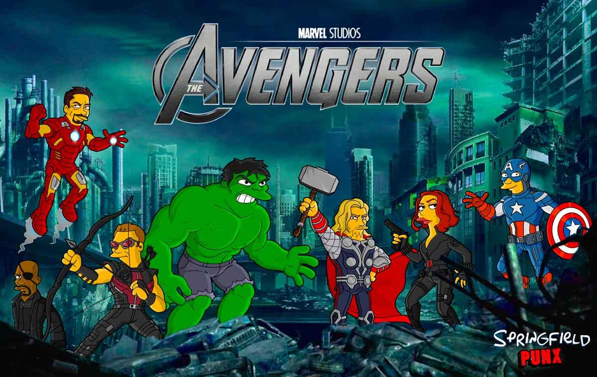 Avengers Springfield Punx