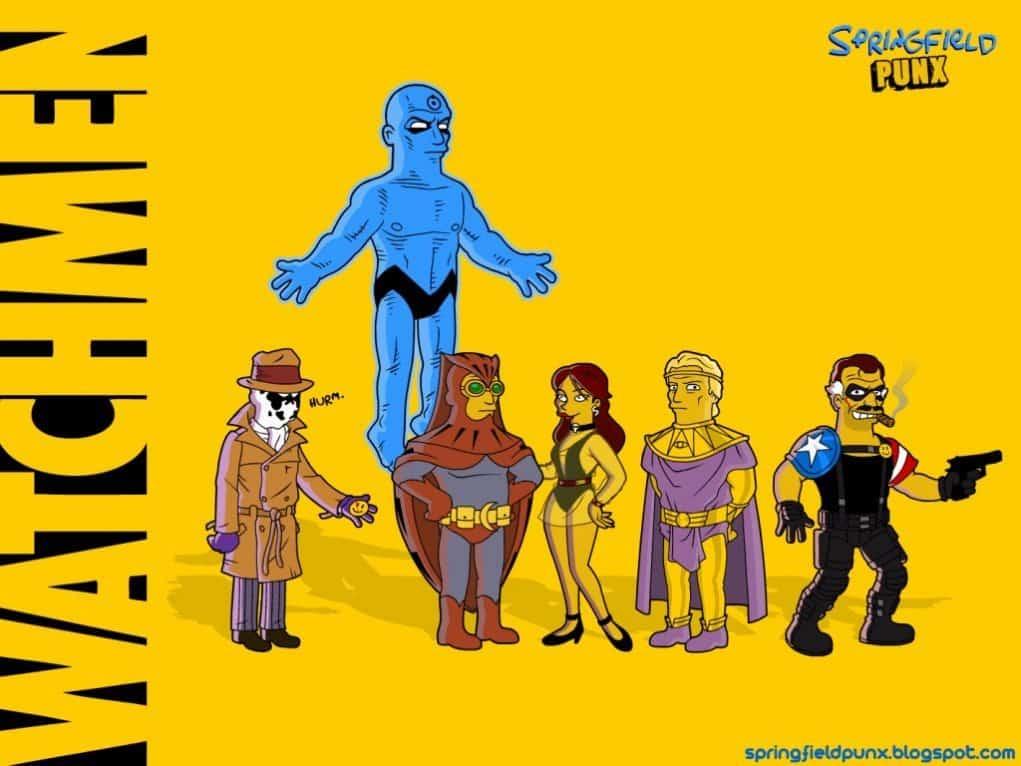 Watchmen Simpsons