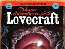 Portada de The Strange Adventures of H.P. Lovecraft