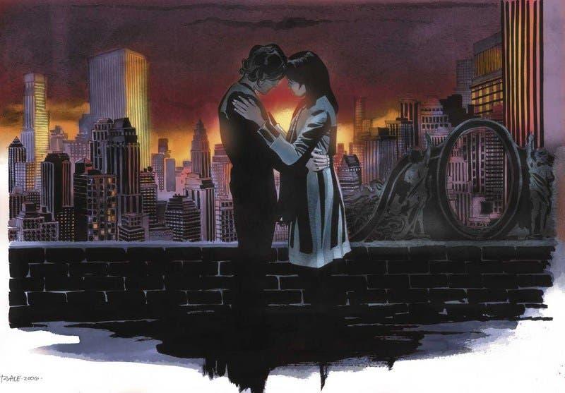 Ilustración para la serie Heroes realizada por Tim Sale