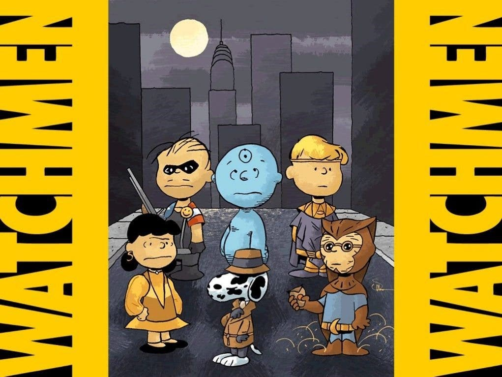 watchmen peanuts