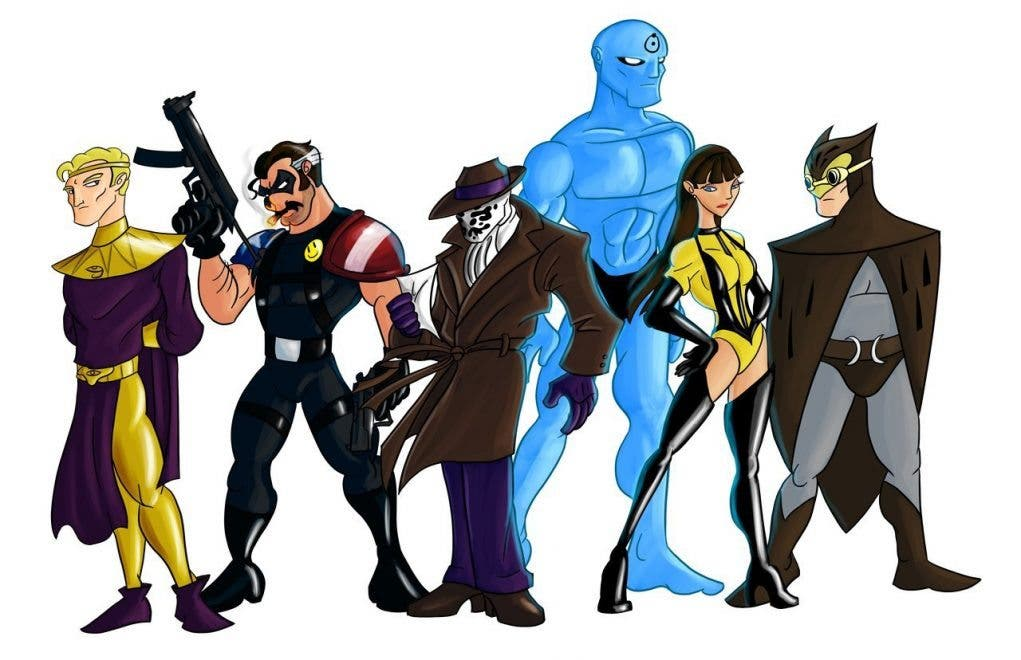 watchmen animated