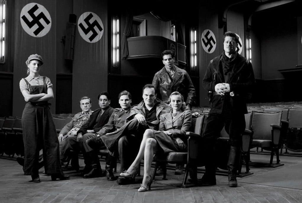 Equipo de Malditos Bastardos de Quentin Tarantino