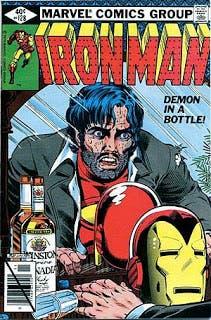 Iron Man portada de 'El diablo en la botella'