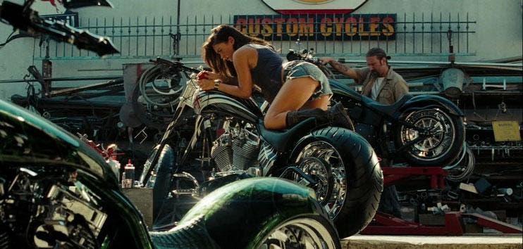 Megan Fox en Transformers 2