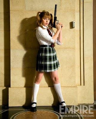 Chloe Moretz como Mindy / Hit Girl en Kick-ass