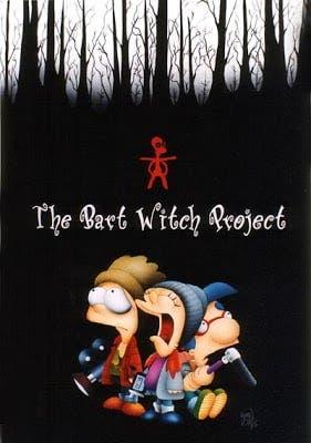 El proyecto de la Bruja de Blair The Simpsons