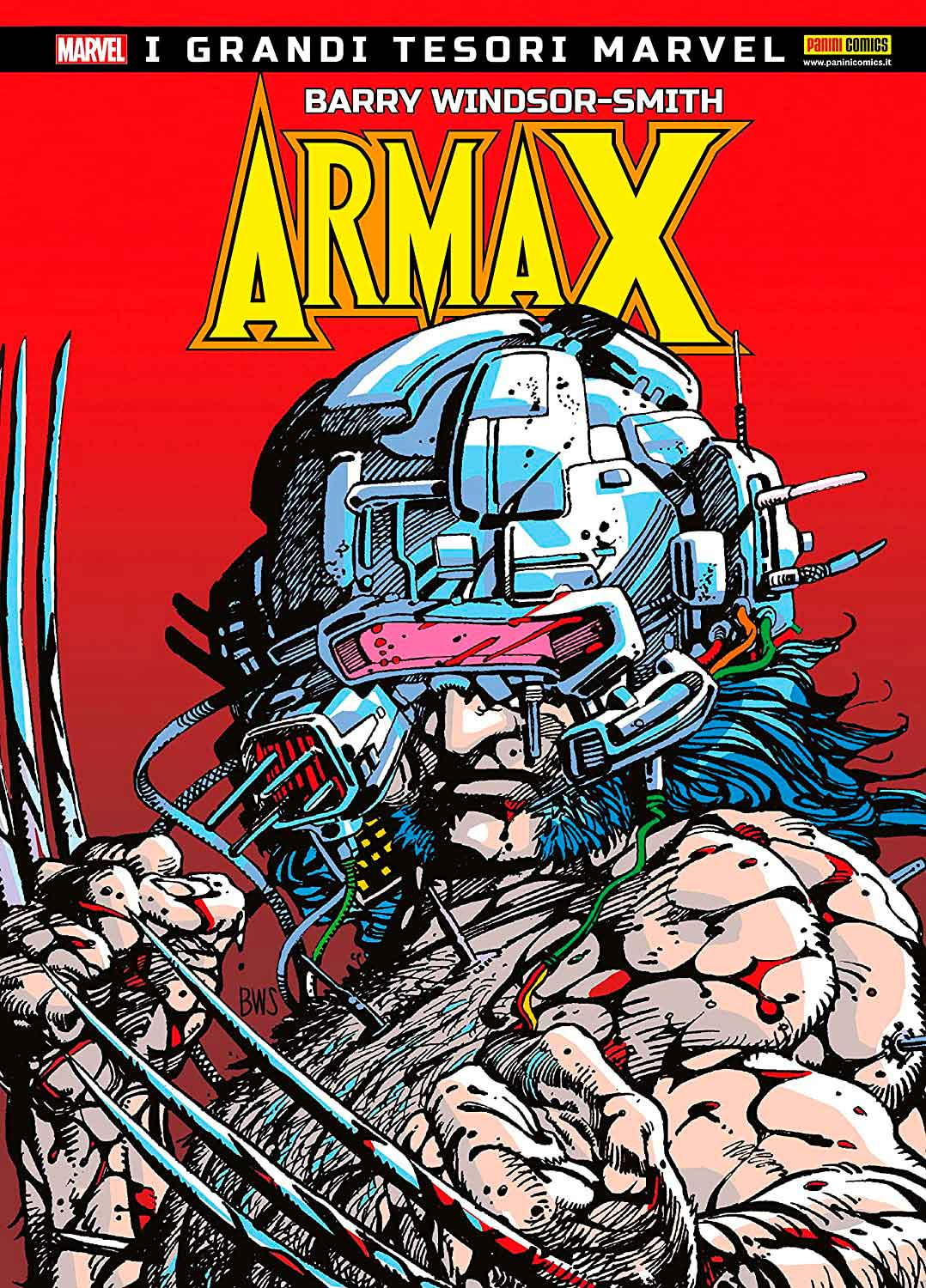 Portada de arma-x de Barry Windsor-Smith