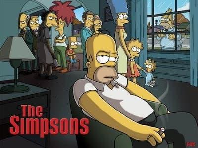 los simpsons Los Soprano