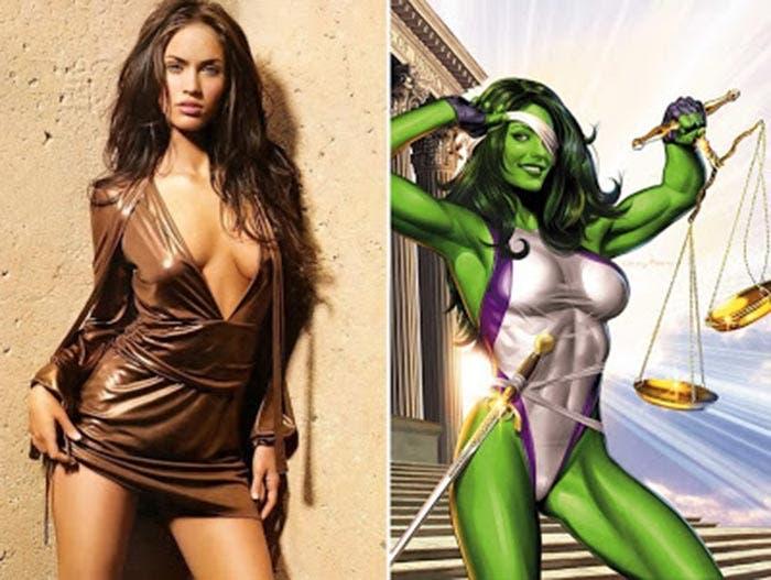 Megan Fox como Hulka