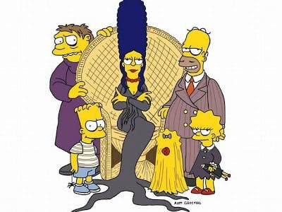 simpson Adam Family