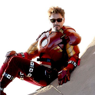 Robert Downey Jr iron man 2