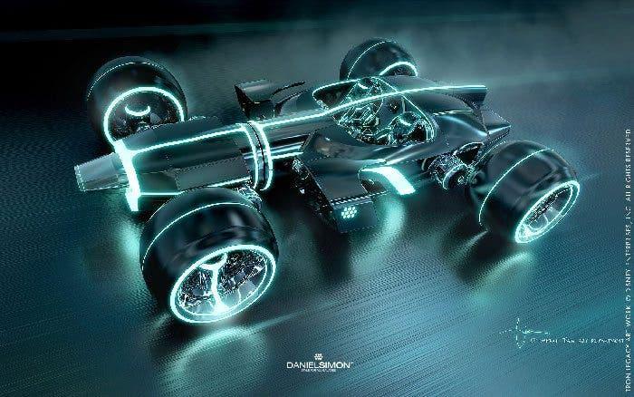Concept art Tron Legacy 5