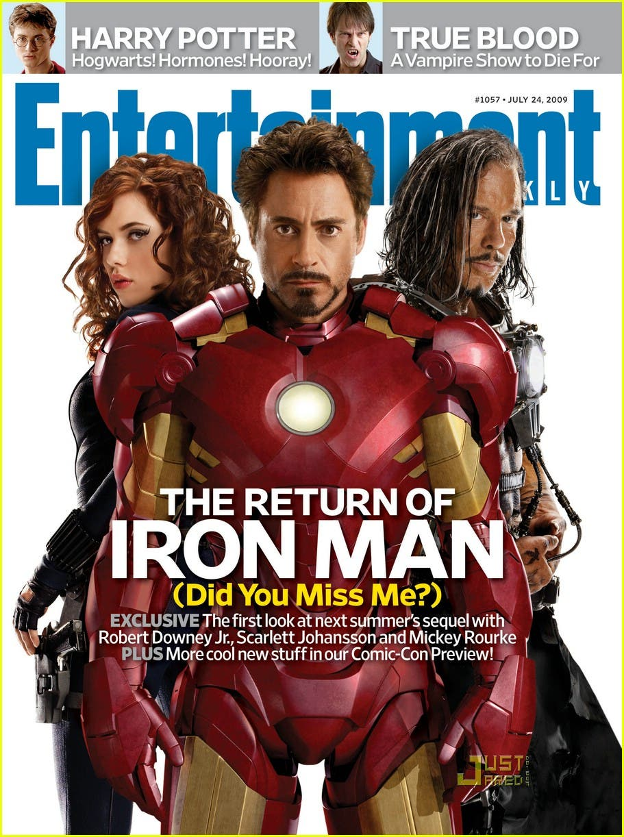 Iron man 2 Entertainment Weekly