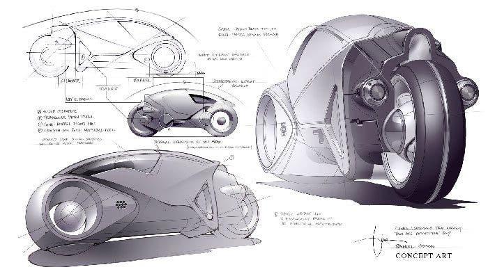 Concept art Tron Legacy 14
