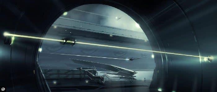 Concept art Tron Legacy 1