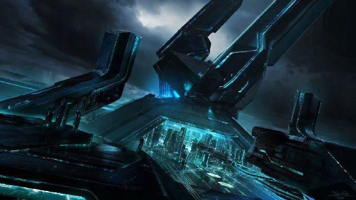 Concept art Tron Legacy 3