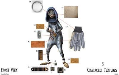 concept art Numero 9
