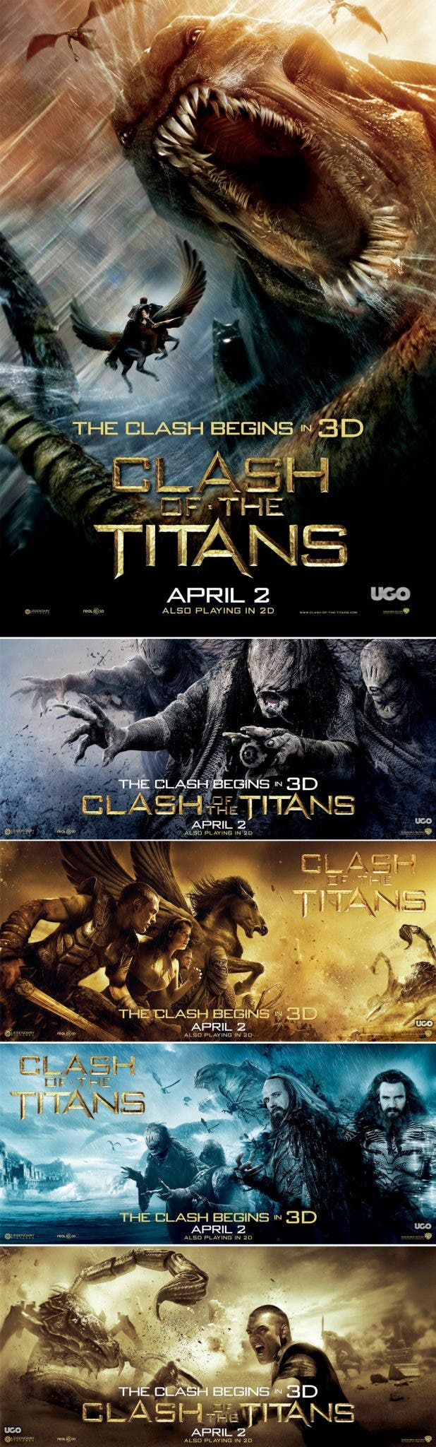 Poster Clash of titanes