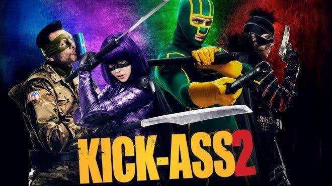 poster KICK-ASS 2. CON UN PAR