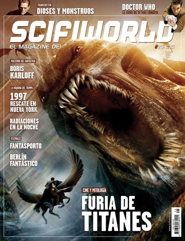 Revista Scifiworld portada Furia de titanes
