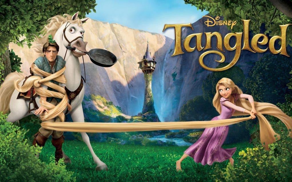 Teaser tráiler de Tangled -Enredados