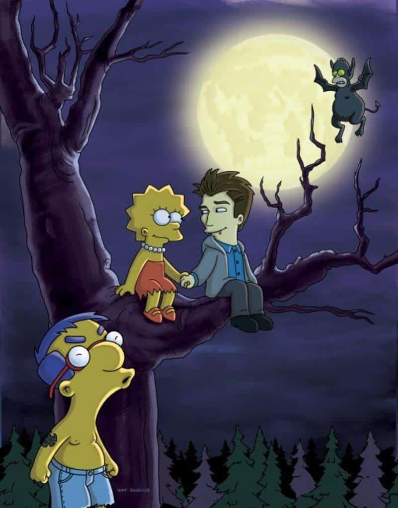 Los simpson Crepúsculo