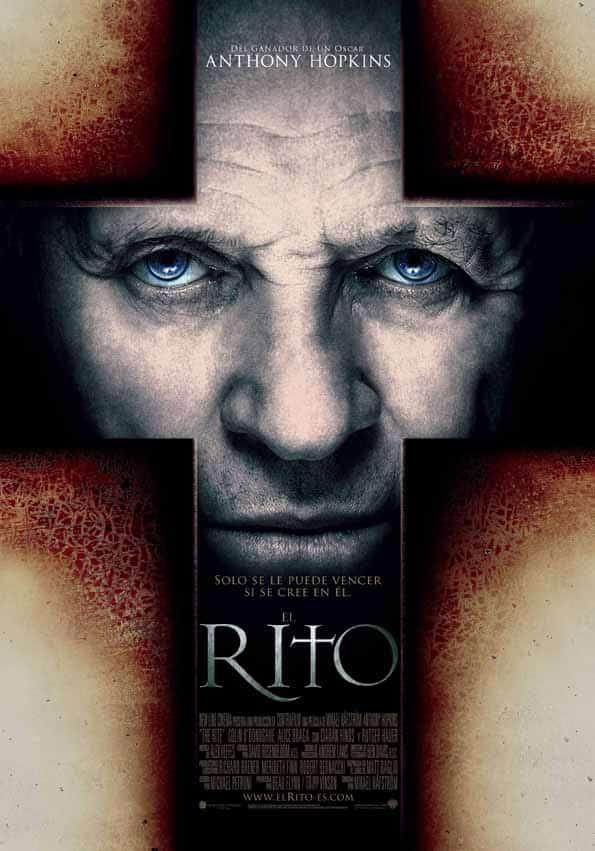 Poster en español de EL RITO