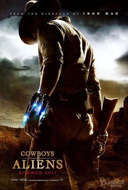 cowboys and aliens teaser poster