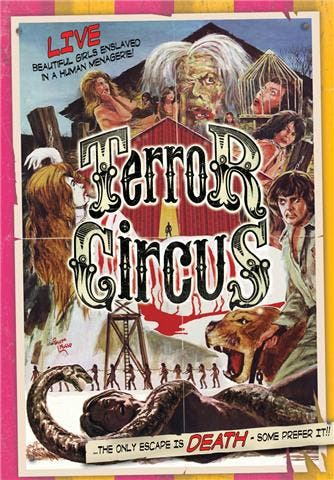El circo del terror - terror circus - the barn of the naked dead - 1974