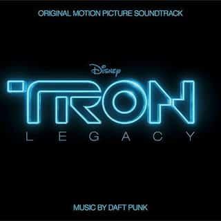 Portada disco BSO de Tron Legacy. Compuesta por Daft Punk.