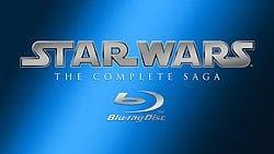 star wars saga en Blu ray