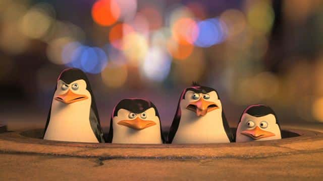 pinguinos madagascar Dreamworks animation