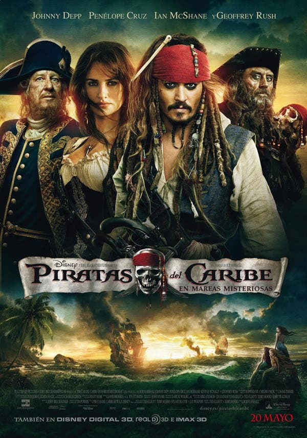 cartel final piratas del caribe 4