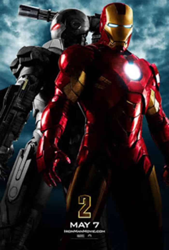 Póster de Iron Man 2 (2010)