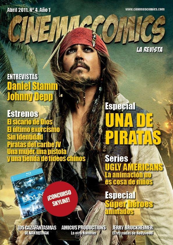 portada de mayo cinemascomics la revista