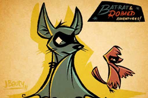 Bat-rat and Robird Adventures!