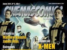 portada de junio cinemascomics la revista
