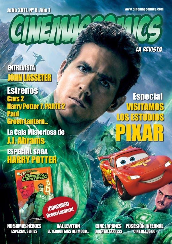 PORTADA JULIO revista CINEMASCOMICS