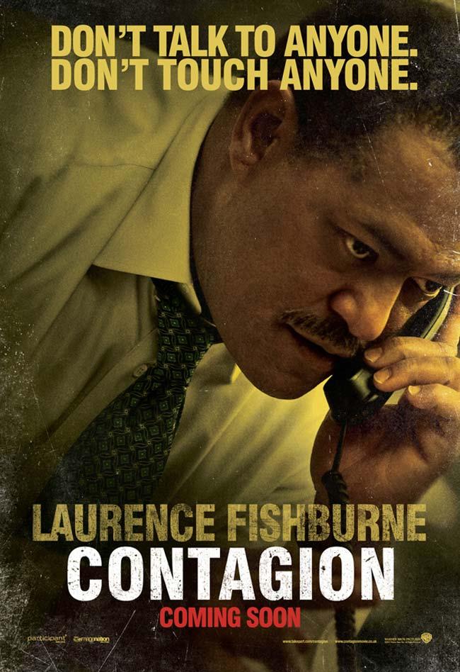 Laurence Fishburne Contagio