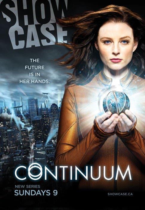 Rachel Nichols en el póster de Continuum