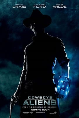 Poster de Cowboys and aliens