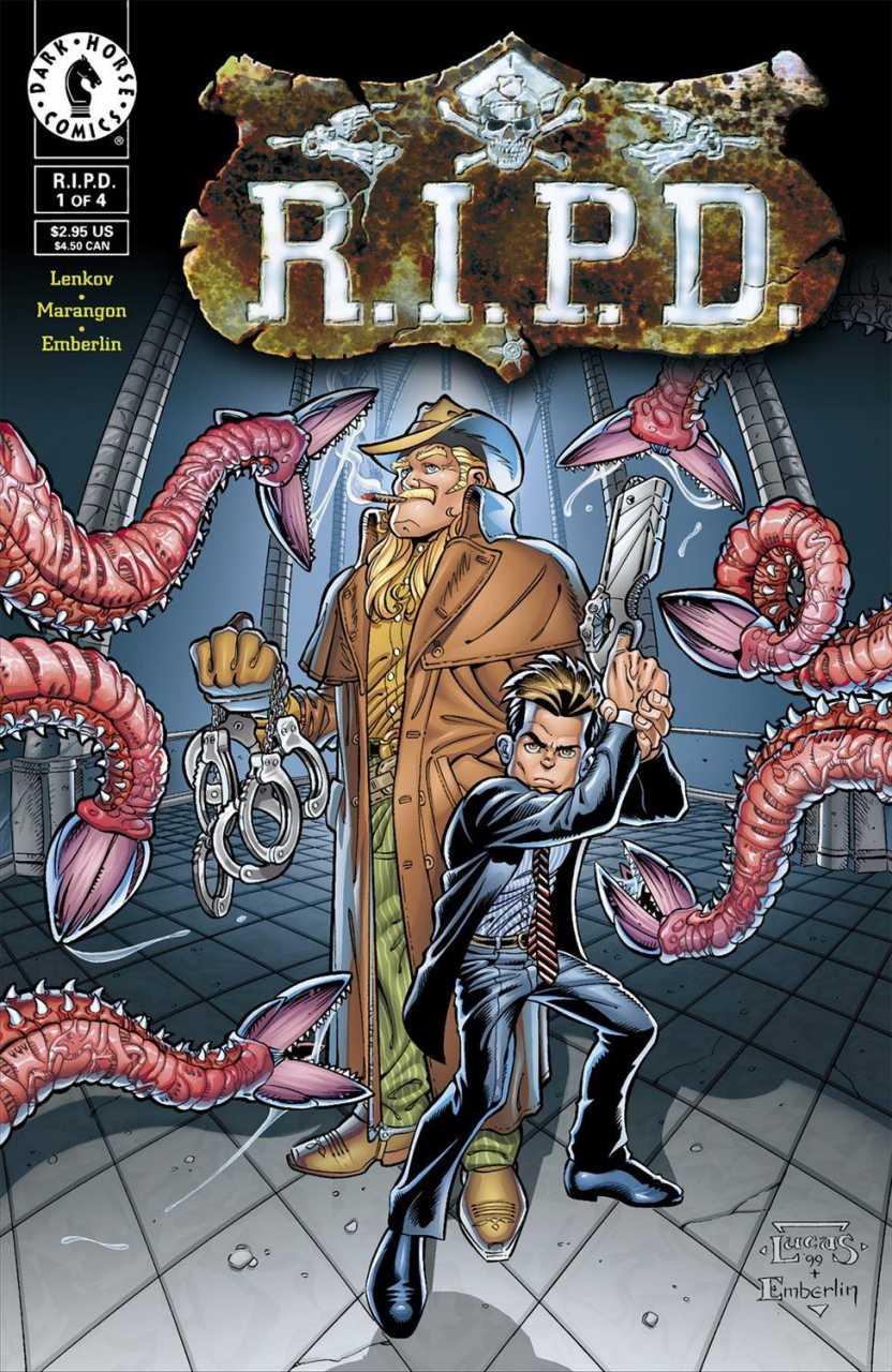 Portada del cómic R.I.P.D.