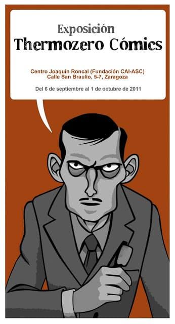exposición Thermozero cómics en Zaragoza