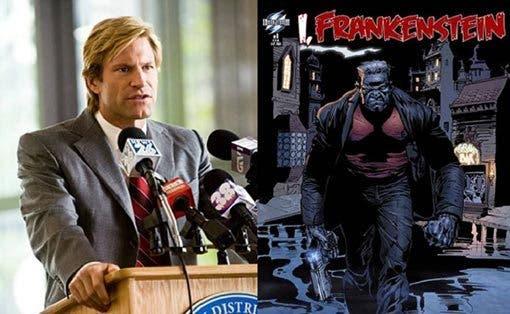 Aaron Eckhart I, Frankenstein