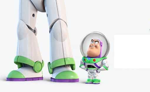 Pequeño Gran Buzz Toy Story