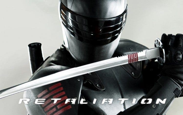 Snake Eyes G.I. Joe: Venganza - GI Joe Retaliation