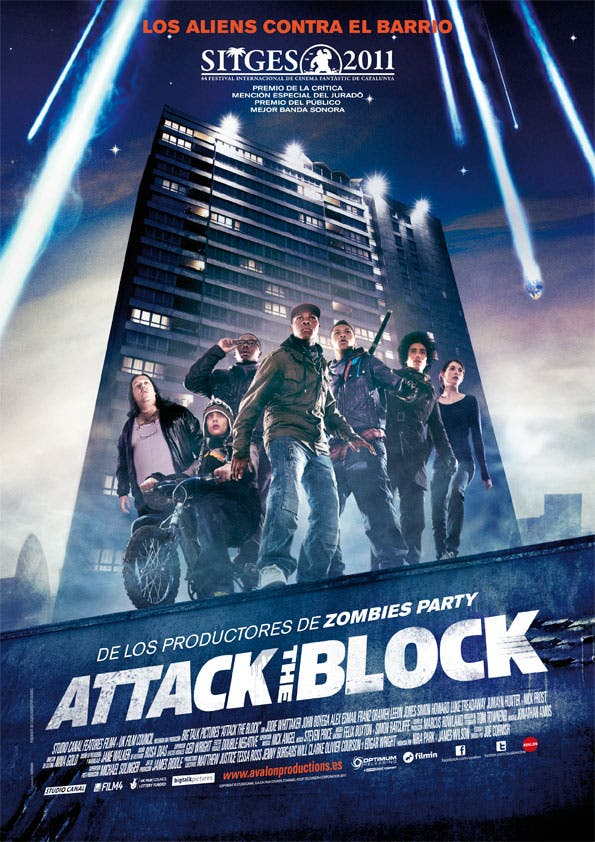Poster de Attack the block