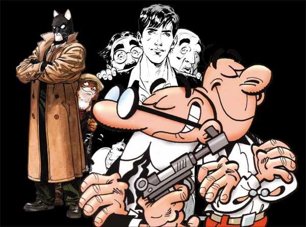 Exposición Héroes del cómic europeo