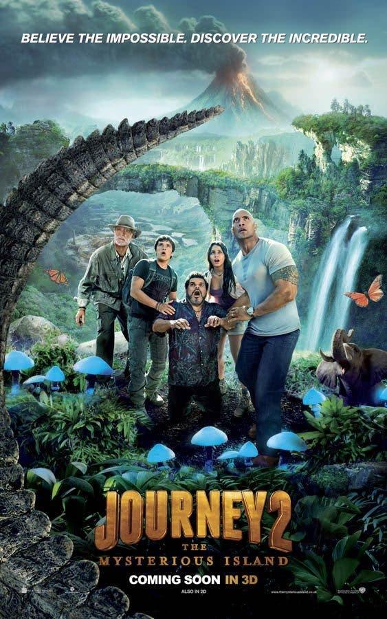 Poster-internacional-de-Viaje-al-centro-de-la-tierra-2-La-isla-misteriosa